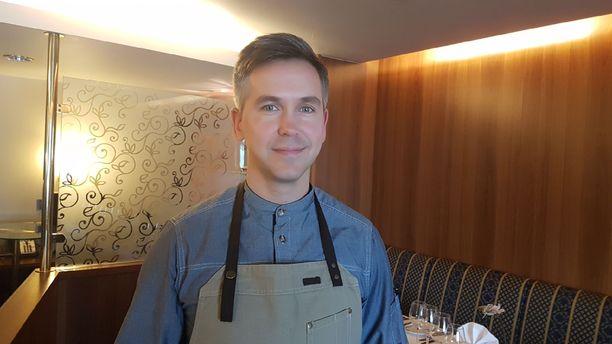 Keittiömestari Peeter Pihel on hyödyntänyt Nordic menussa lapsuutensa lempimakuja.