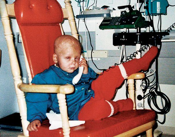 Syöpään sairastuu Suomessa vuosittain noin 150 lasta. Heistä 70-80 prosenttia paranee.
