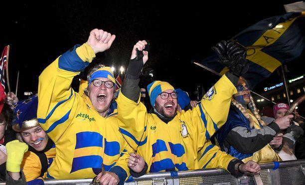 Ruotsalaiset ovat tuulettaneet toistaiseksi neljää mitalia.