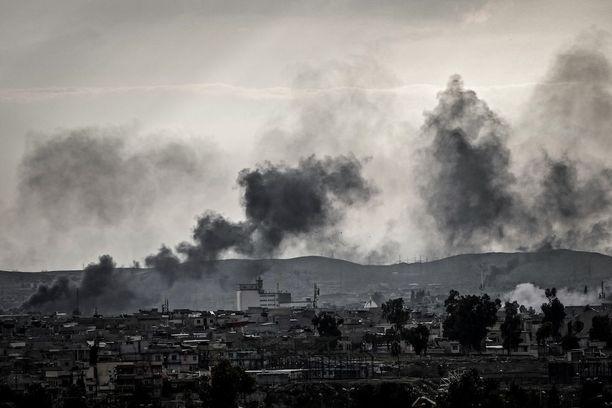 Taistelu Mosulista jatkuu edelleen, mutta terroristijärjestö Isis on ajettu ahtaalle.