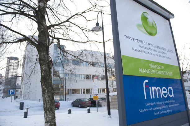 Terveyden ja hyvinvoinnin laitos Helsingissä.