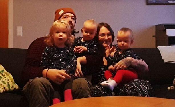 Niklas, Anna, Gaia, Nanna ja Ester asuvat Haaparannalla, Suomen ja Ruotsin rajan tuntumassa.