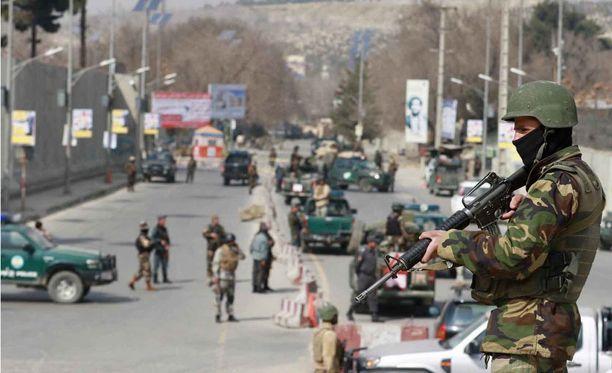 Kabulissa on hyökätty sairaalaan.