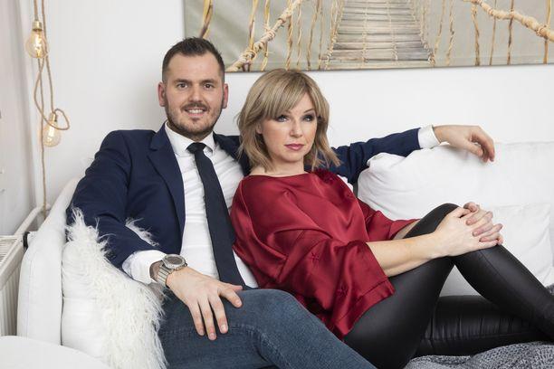 Pandora ja Mikko Peltonen ovat olleet yhdessä jo seitsemän vuotta.