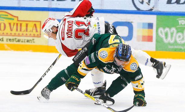 Tomi Körkkö toi Sportin tasoihin ja jatkoajalle.
