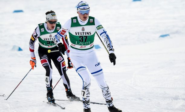 Hannu Manninen jahtaa menestystä Lahden MM-kisoissa. 38-vuotias Manninen juhli sprinttikilpailun MM-kultaa Sapporossa 2007.