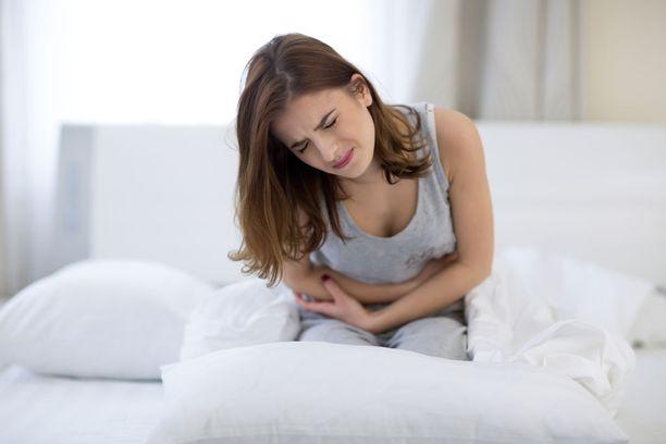 Syvä endometrioosi aiheuttaa vaikeita kuukautiskipuja, yhdyntä- ja vatsakipuja.