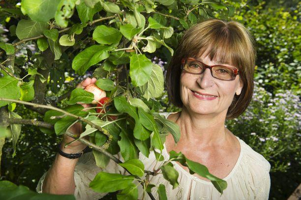 Eva Polttila iloitsee uudesta romanssista. Kuva vuodelta 2011.