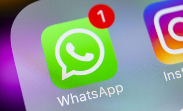 Whatsapp-viesti voi johtaa sovelluksen jumiutumiseen.