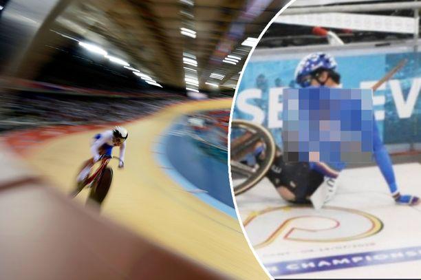 Lorenzo Gobbon loukkaantuminen järkytti Belgiassa järjestetyissä EM-kisoissa.