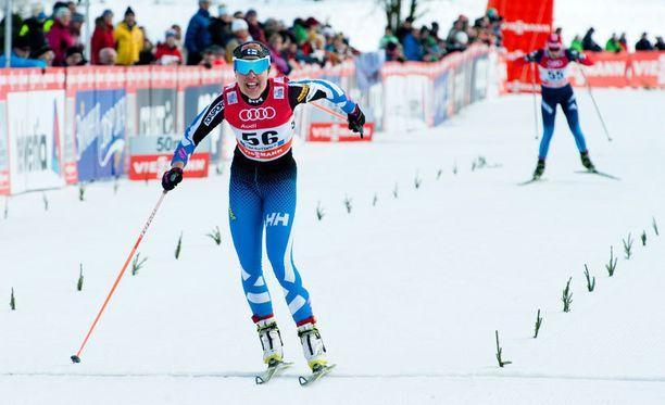 Kerttu Niskanen oli parhaana suomalaisena yhdestoista lauantaina.