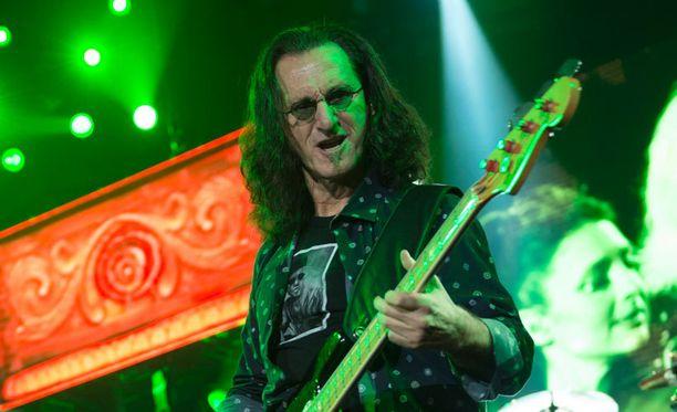 Rush esiintyi maanantai-iltana Helsingin Hartwall Areenalla.