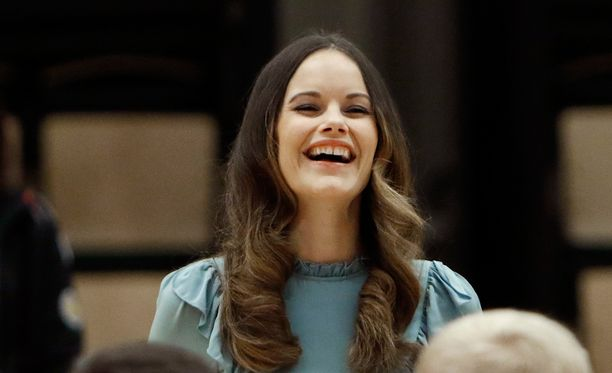 Prinsessa Sofia on totuttu näkemään leveässä hymyssä.