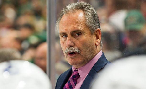 Willie Desjardins luotsaa Kanadan jääkiekkomaajoukkuetta ensi kauden.