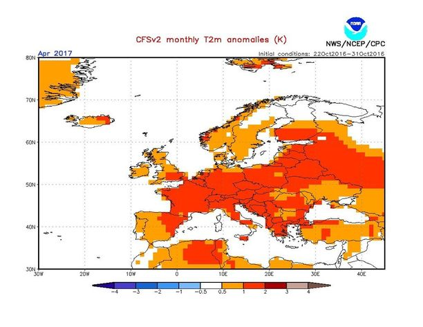 Maan etelä- ja keskisosissa talvi on loppumassa normaalia aiemmin. Lapissa huhtikuu vietetään normaaleissa lämpötiloissa.