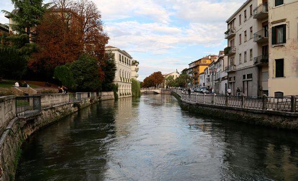 Prosecco-alueen sydämessä sijaitsevassa Trevisossa virtaa lukuisia kauniita kanavia.