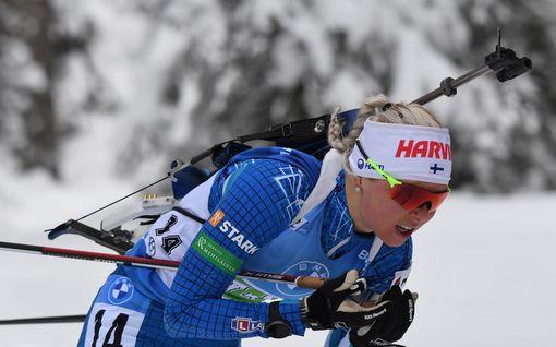 Mari Eder romahti kauas kärjestä – Tiril Eckhoffille MM-kultaa, pronssin nappasi todellinen yllättäjä