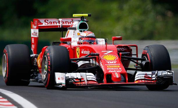 Kimi Räikkönen oli harjoitusten viidenneksi nopein kuski.