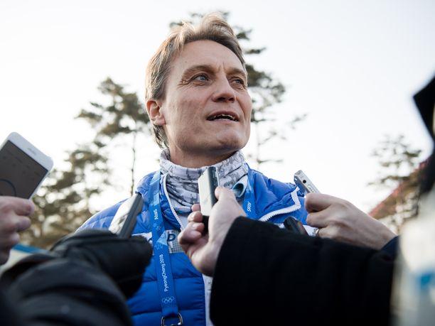 Mika Kojonkoski palasi mäkivalmennuksen pariin.