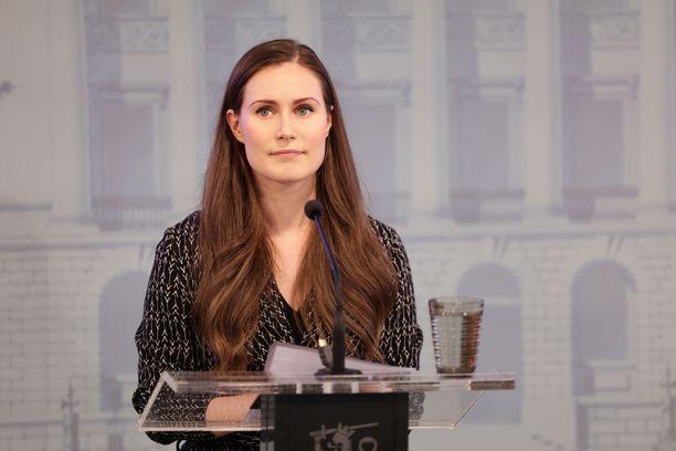 Hallitus pääministeri Sanna Marinin johdolla esitteli hallituksen budjettiesitystä valtioneuvoston linnassa järjestetyssä tiedotustilaisuudessa keskiviikkona.