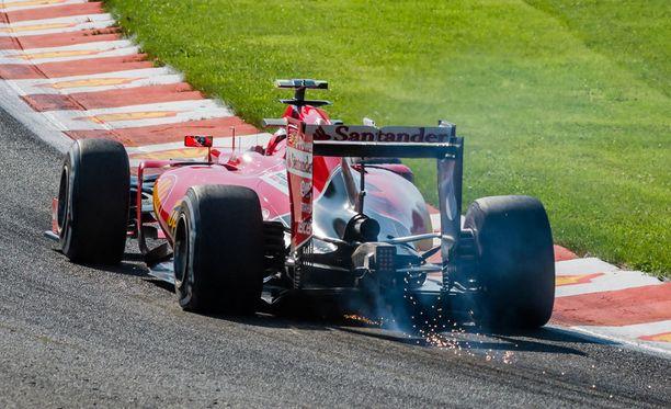 Kimi Räikkönen oli harjoitusten neljäs, huonomminkin olisi lopussa voinut käydä.