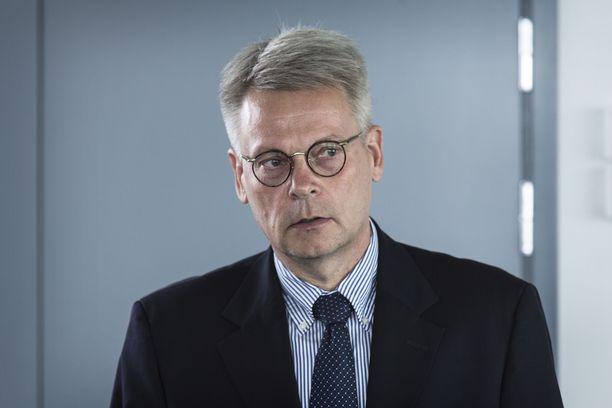 Neleksen hallituksen puheenjohtaja Jukka Moisio.