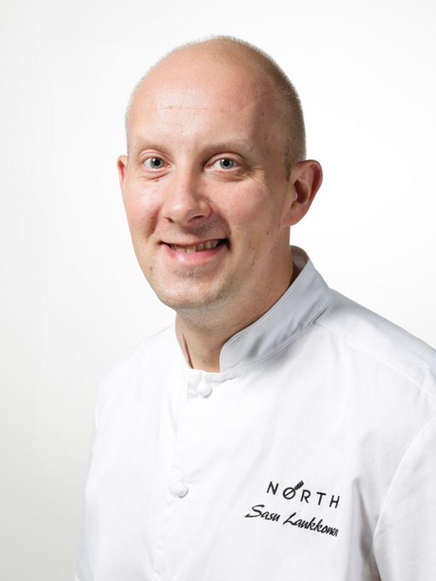 Sasu Laukkonen on Chef & Sommelier -ravintolan keittiömestari.