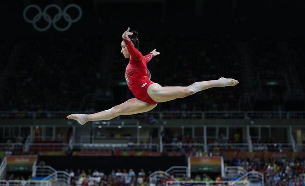 Aly Raisman on jo 22-vuotiaana peräti kolminkertainen olympiavoittaja.