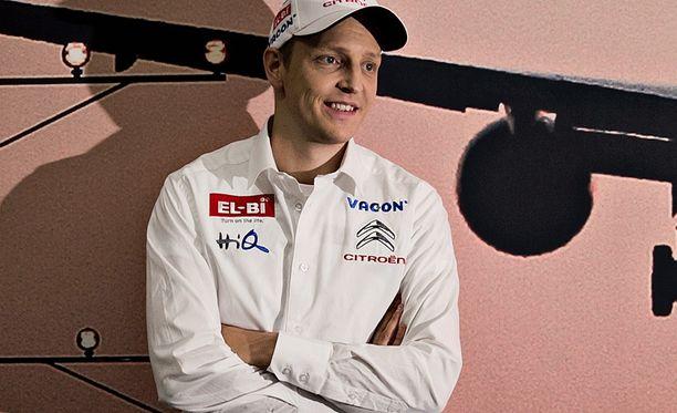Mikko Hirvosella on jälleen edessään iso kausi.