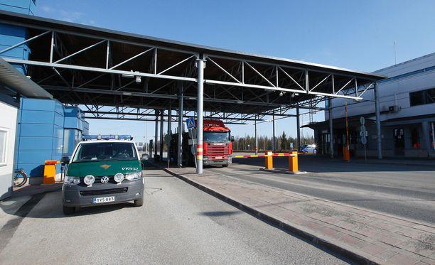 Kuvituskuva Niiralan raja-asemalta Tohmajärveltä Keski-Karjalasta.